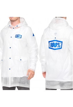 Impermeable 100% Mechanic's Raincoat - Clear