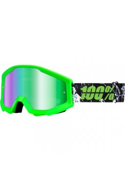 Antiparras Strata Crafty Lime Mirror Green Lens
