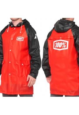 Impermeable 100% Mechanic's Raincoat - Rojo y Negro