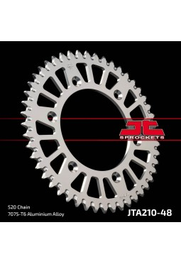 Corona de Aluminio JT CR/CRF/XR 48D