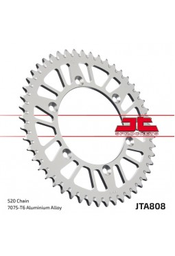 Corona de Aluminio JT RM/DR 250/350R 90-99 DRZ 400 00-04