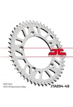 Corona de Aluminio JT KTM-Husqvarna 60/65 98-17 48D