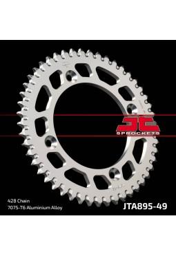 Corona de Aluminio JT KTM85 49D