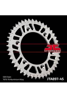 Corona de Aluminio JT KTM 125/250/300/360/620 45D