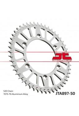 Corona de Aluminio JT KTM 125/250/300/360/620 50D Autolimpiante