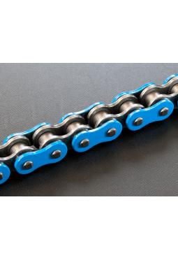 Cadena de Transmisión RK 520 X 118 C/Oring Azul