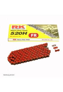 Cadena de Transmisión RK 520 X 120 H Roja