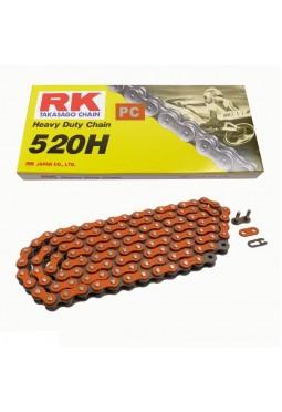 Cadena de Transmisión RK 520 X 120 H Naranja