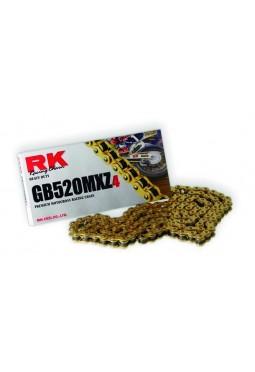 Cadena de carreras de motocross RK GB520MXZ4 120L