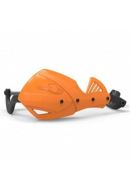 Cubre Mano Alma De Aluminio Naranja Con Anclajes 28.5 Y Fijador 17.5Mm Fat Bar Ktm