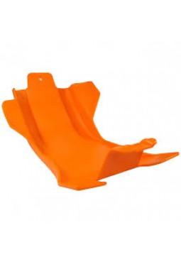 Cubre Carter Ktm Husqvarna 250-350 4T 14 16 Enduro Naranja
