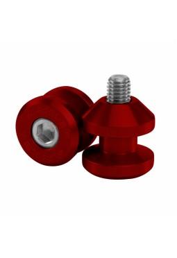Juego Slider De Horquillon Metrica 6 Rojo Anodizado