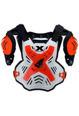 Pechera UFO X-CONCEPT Blanca-Naranja Fluo