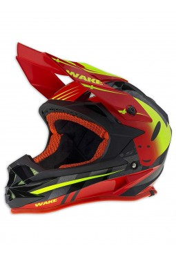 Casco MX UFO 2018 Onyx Wake