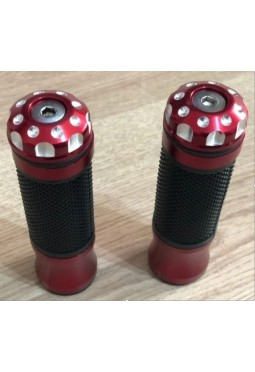 Puños Custom Goma Aluminio